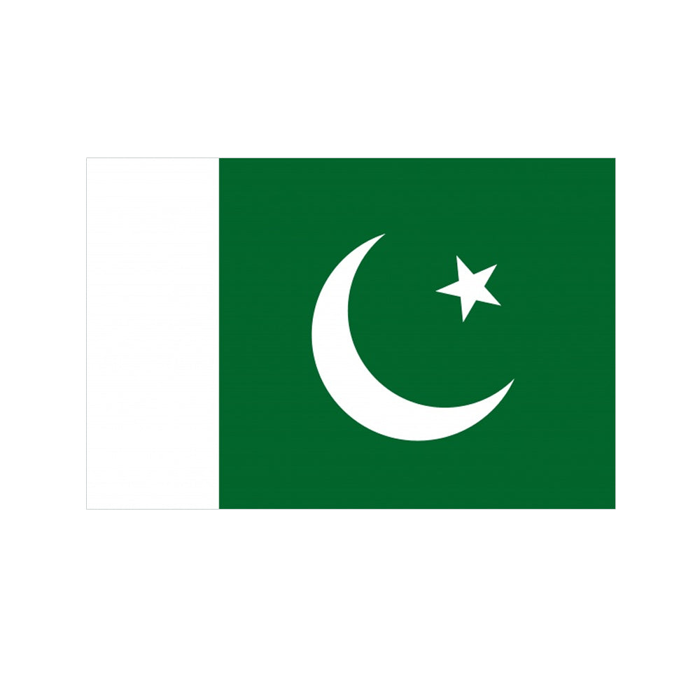 Pakistani Polyester Fabric Flag 5ft x 3ft