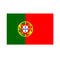 Portuguese Polyester Fabric Flag 5ft x 3ft