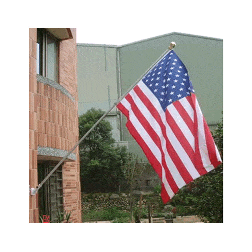 Wall Mounted Telescopic Flagpole - 1.83m