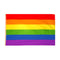Gay Pride Polyester Fabric Flag 5ft x 3ft