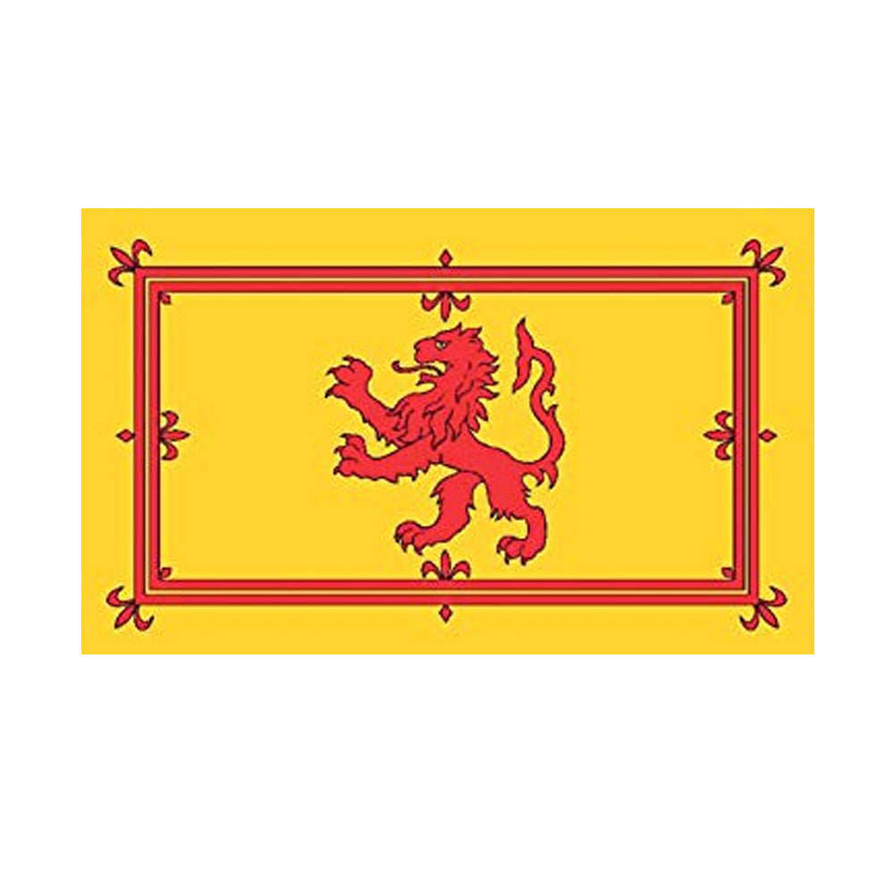 Rampant Lion Polyester Fabric Flag 5ft x 3ft