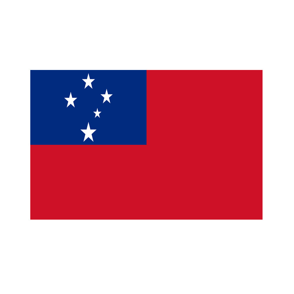 Samoan Polyester Fabric Flag 5ft x 3ft