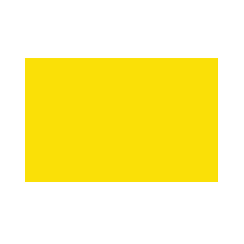 Yellow Solid Colour Cloth Flag 5ft x 3ft