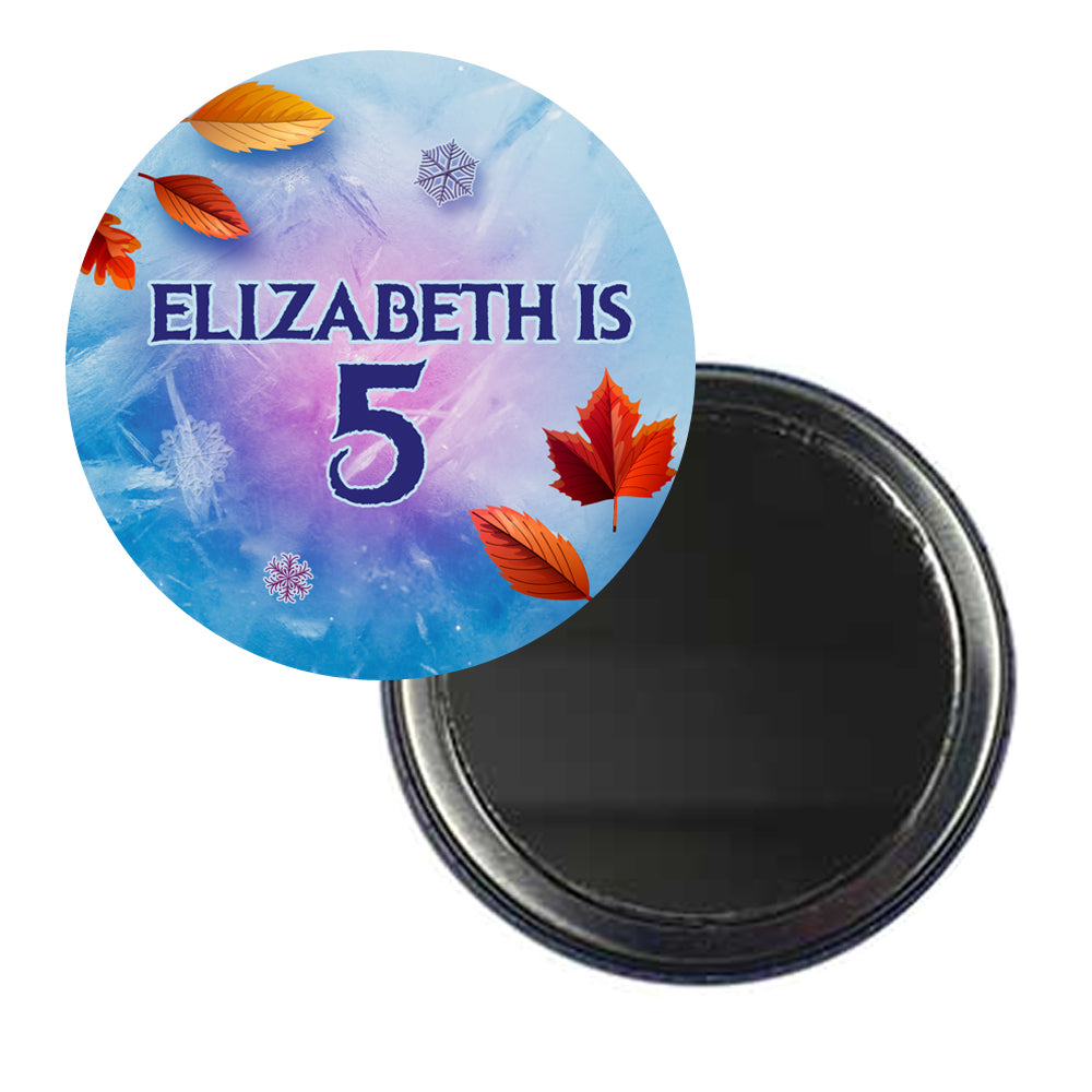 Let It Go Personalised Pocket Mirror - 58mm - Each