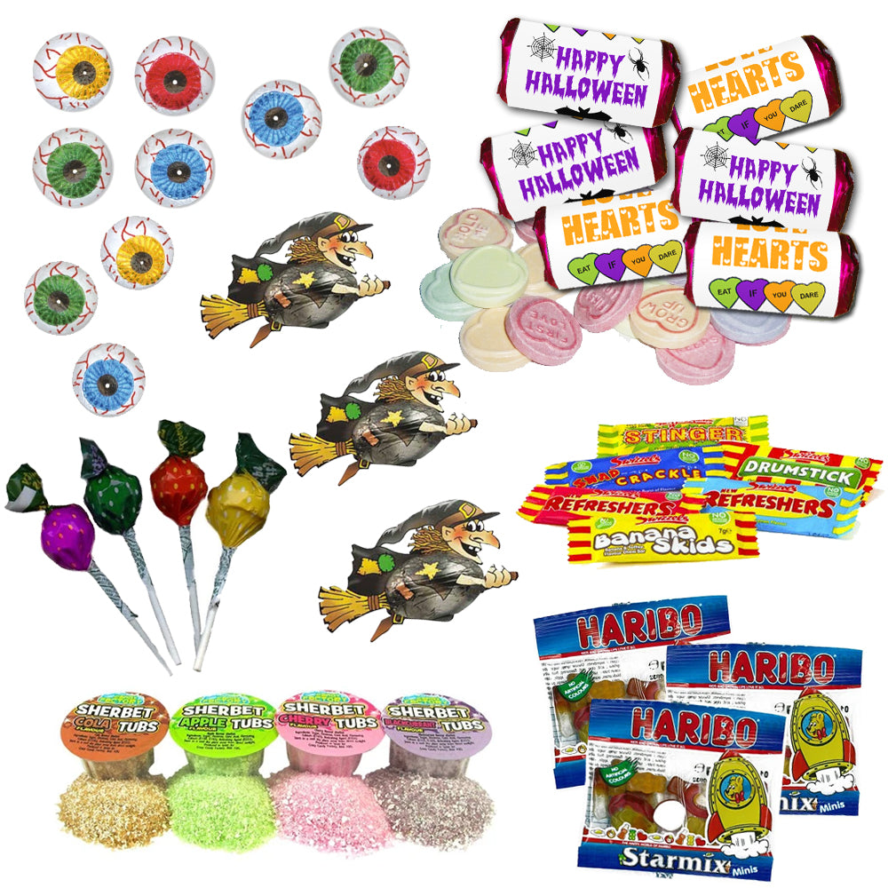 Pack of 100 Halloween Sweets