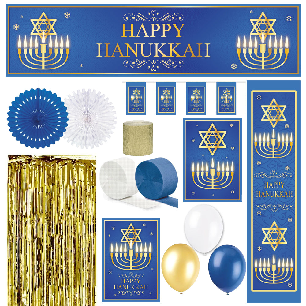 Hanukkah Party Decoration Pack
