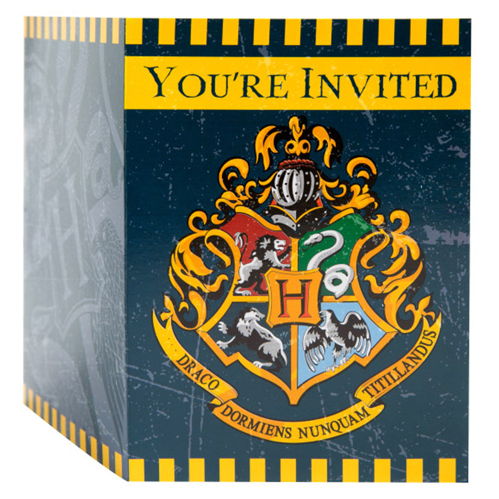 Harry Potter Invitations - Pack of 8