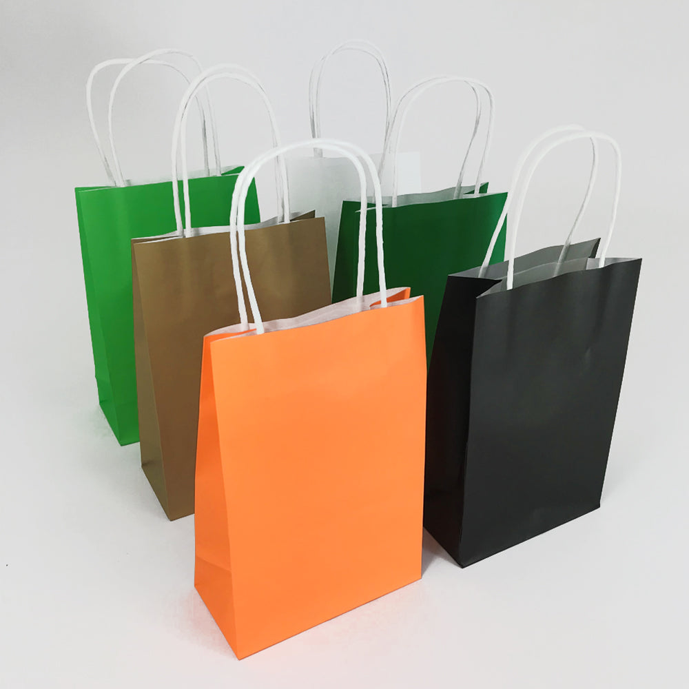 Jungle Colours Paper Party Bags - Pack of 6
