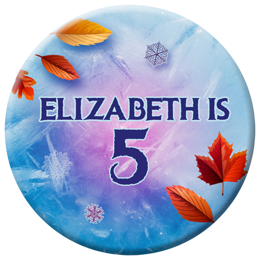 Personalised Let It Go Badge - 58mm