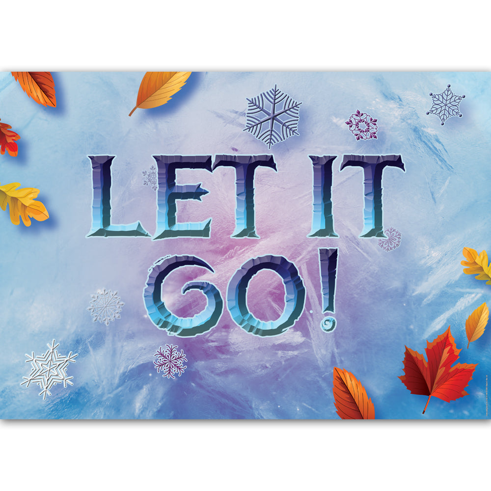 Let It Go Poster Decoration - A3
