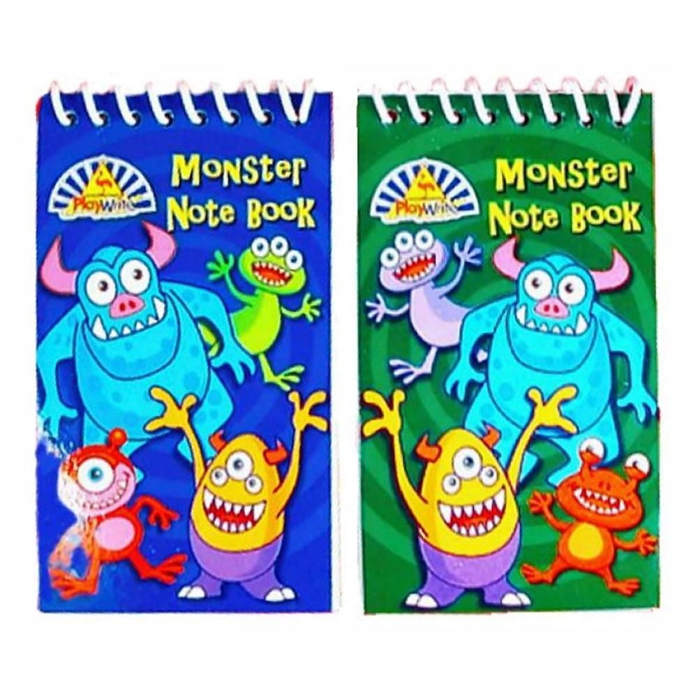 Mini Monster Notepad - Assorted Designs - Each