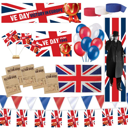 VE Day Decoration Party Pack