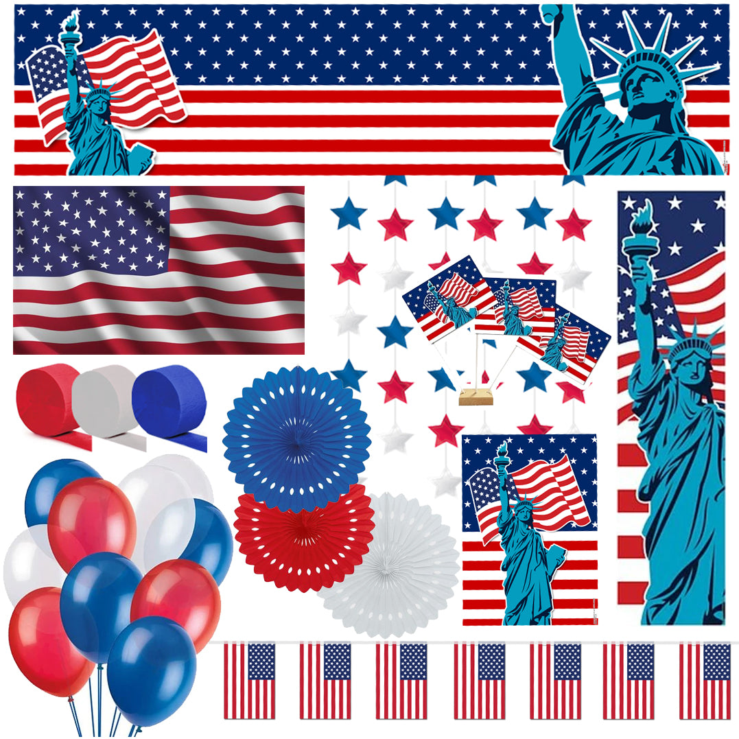 American Decoration Party Pack