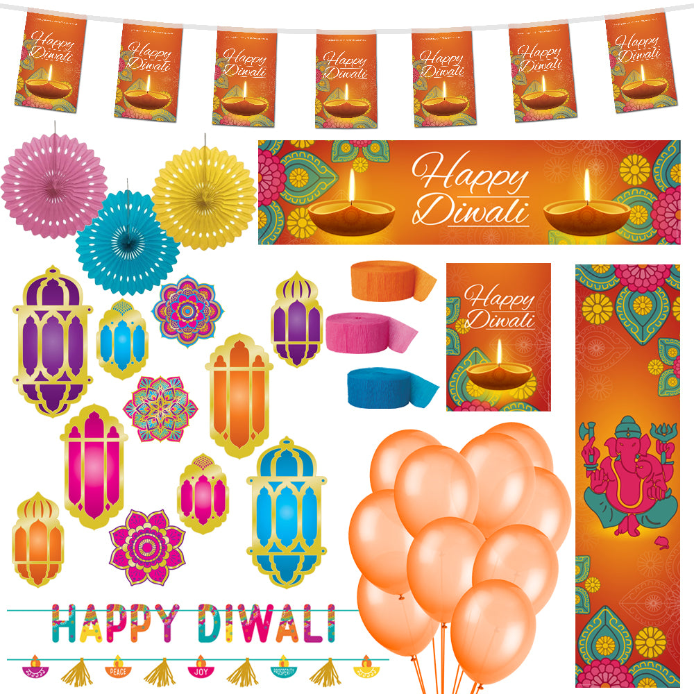 Diwali Decoration Party Pack
