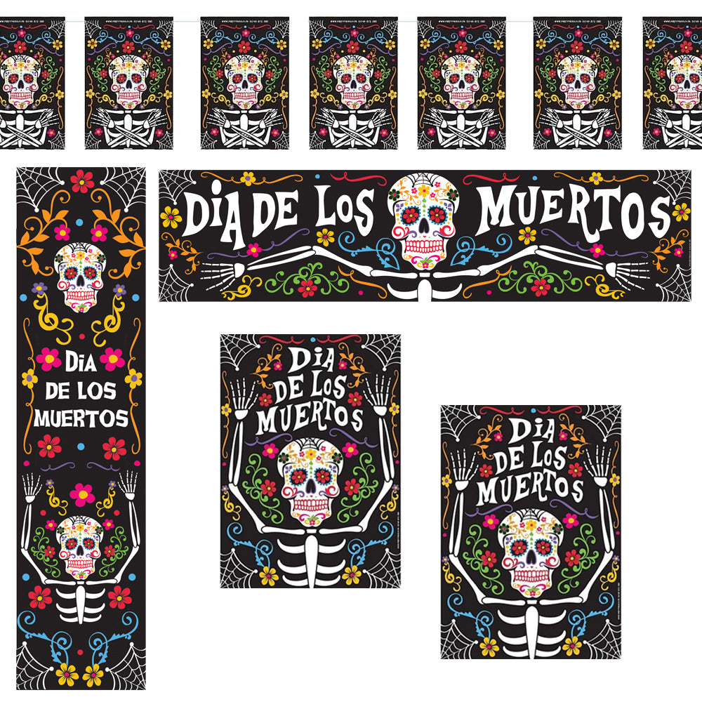 Day of the Dead Decoration Party Pack