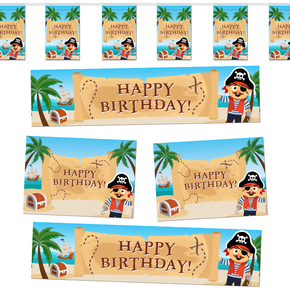 Pirate Decoration Party Pack