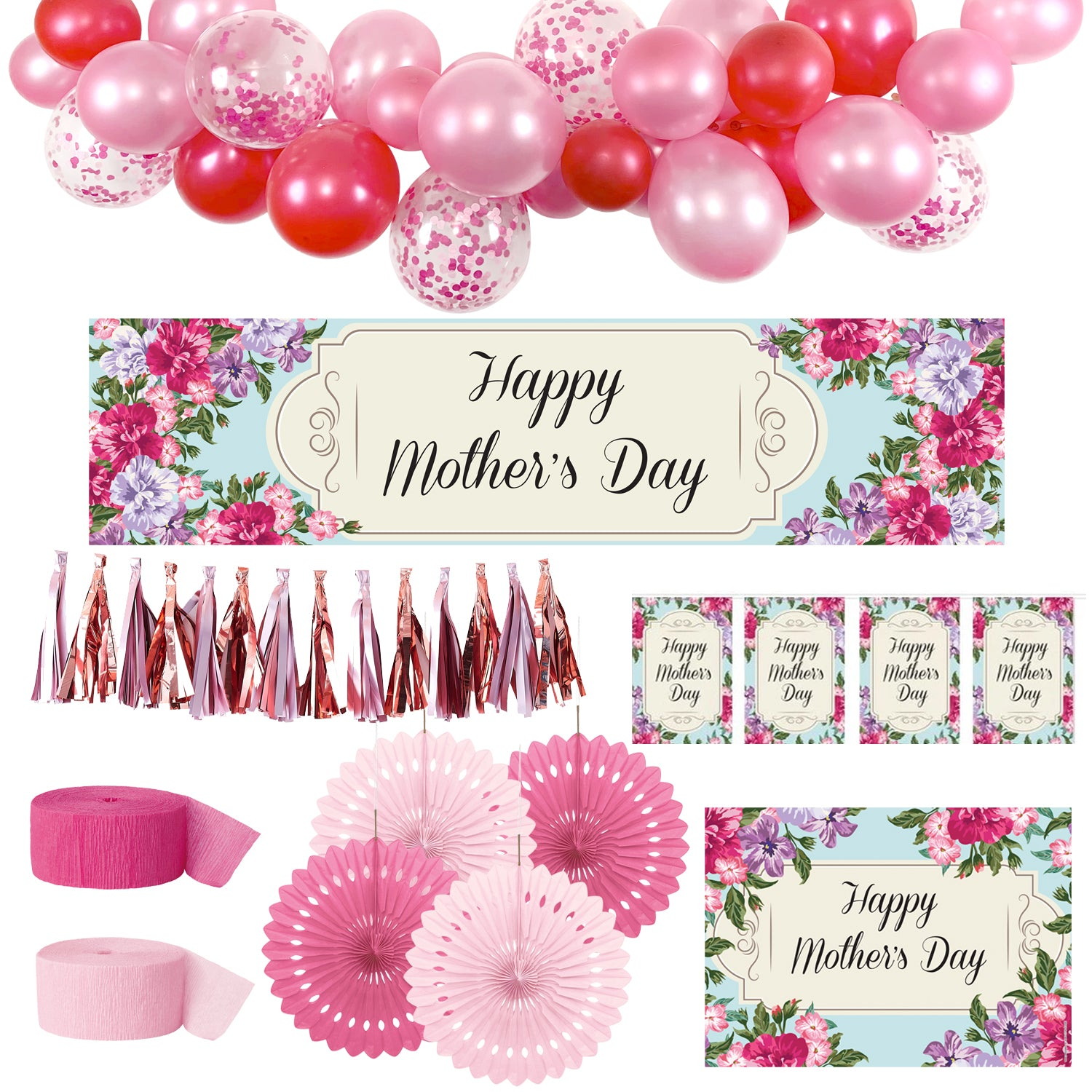 Mother's Day Decoration Pack