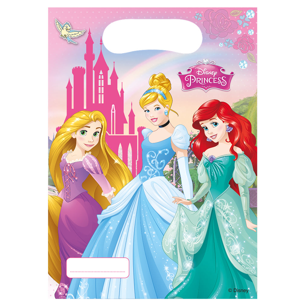 Disney Princess Party Bags - Pack of 6
