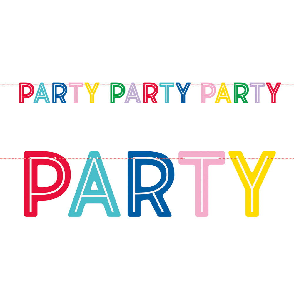 'Party Party Party' Banner - 2.13m