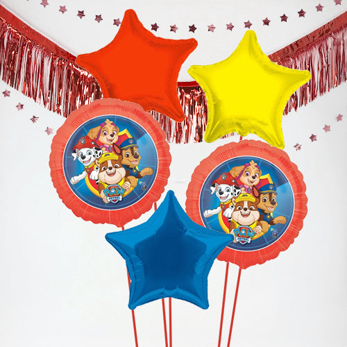 Inflated Paw Patrol Balloon Bundle in a Box