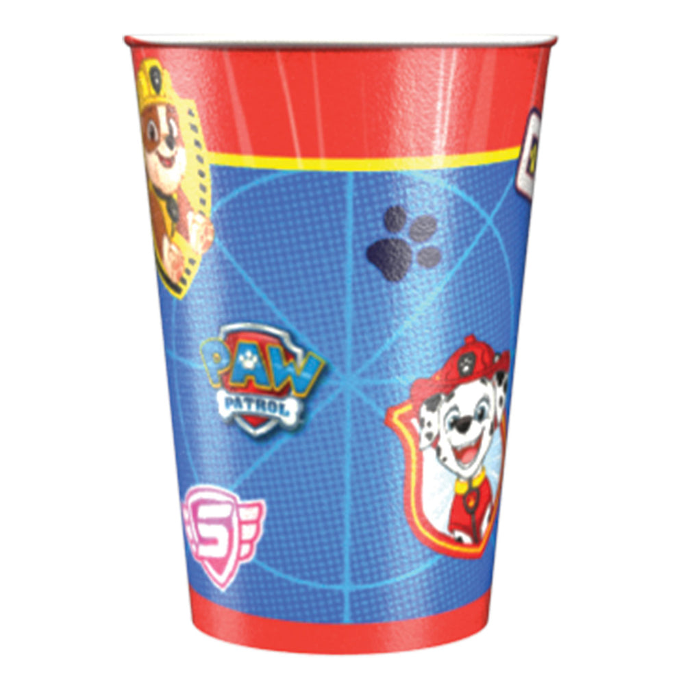 Paw Patrol Paper Cups - 250ml - Pack of 8