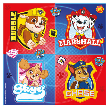 Paw Patrol Paper Napkins - 33cm - Pack of 16