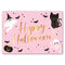 Pink Halloween 'Happy Halloween' Poster Decoration - A3