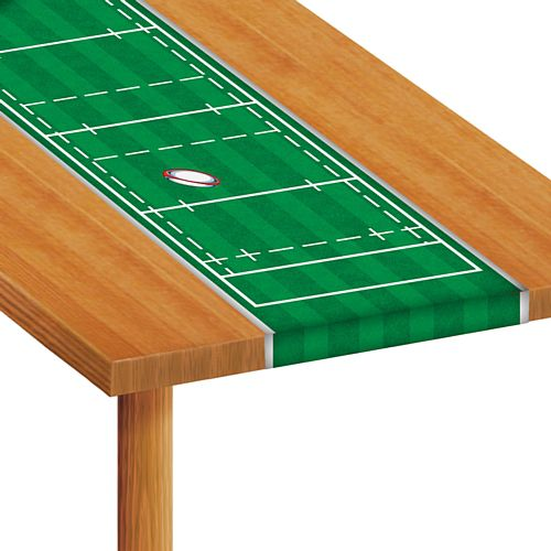 Rugby Pitch Table Runner - 1.2m - Each