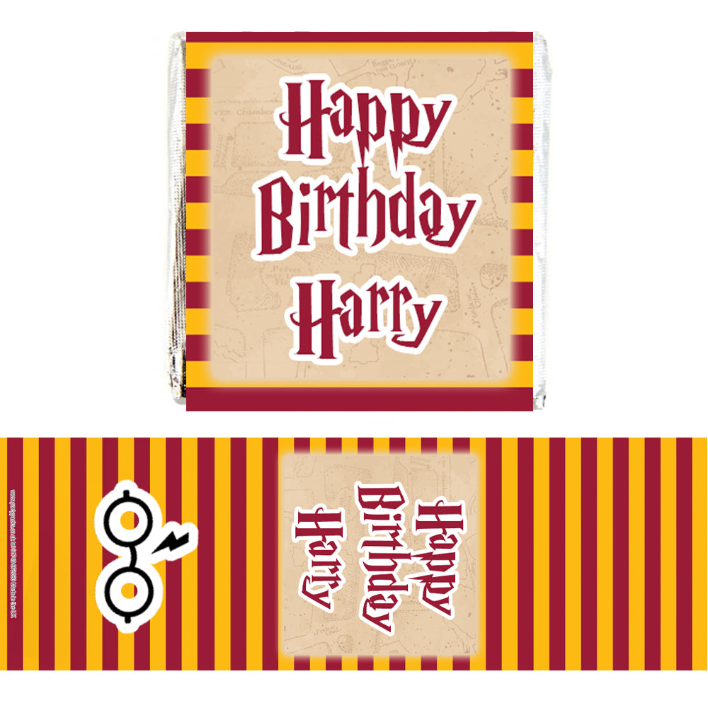 Personalised Chocolates - Wizard - Pack 16
