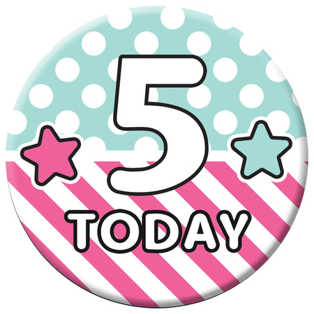 Personalised Badge 58mm - Surprise Birthday