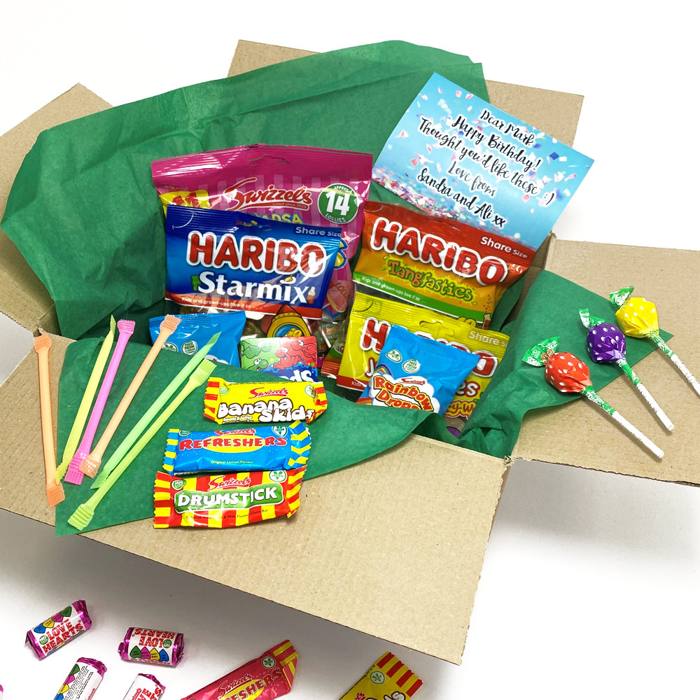 Send a Personalised Sweet Hamper Gift Box