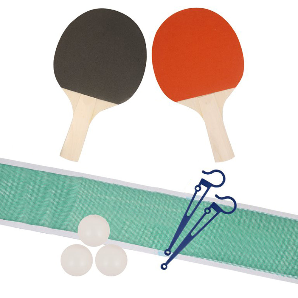 Table Tennis Game - Set of 2 Bats, 3 Balls & Net