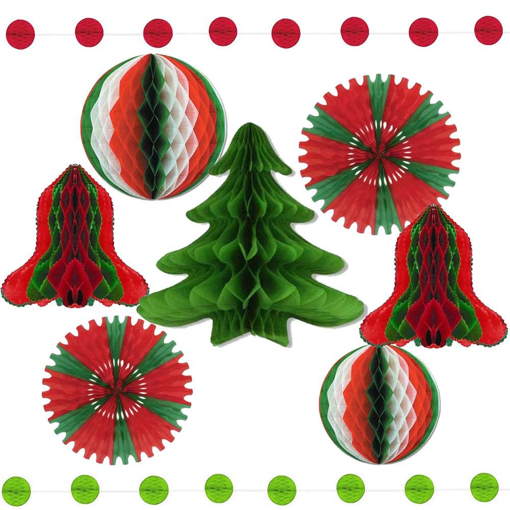 Christmas Tissue Paper Decoration Party Pack - Plastic-Free!
