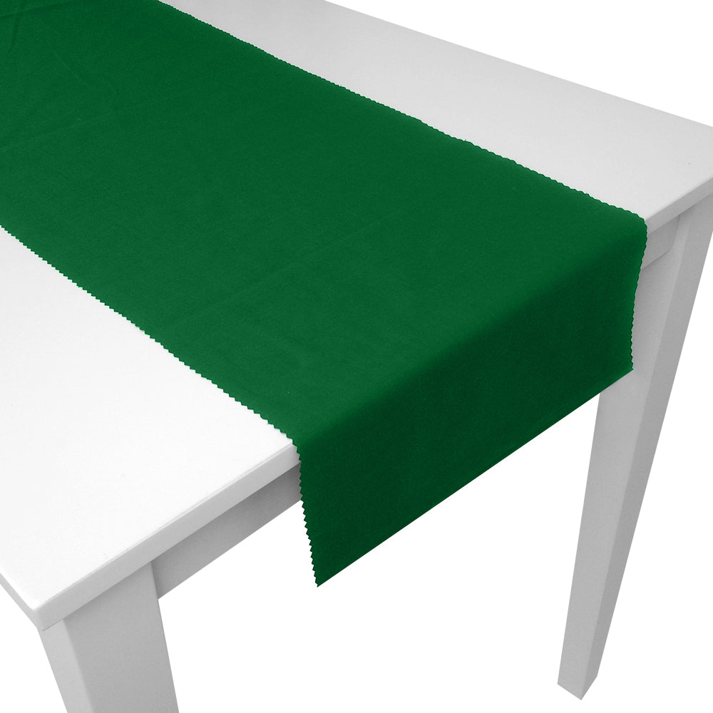 Green Fabric Table Runner - 1.5m