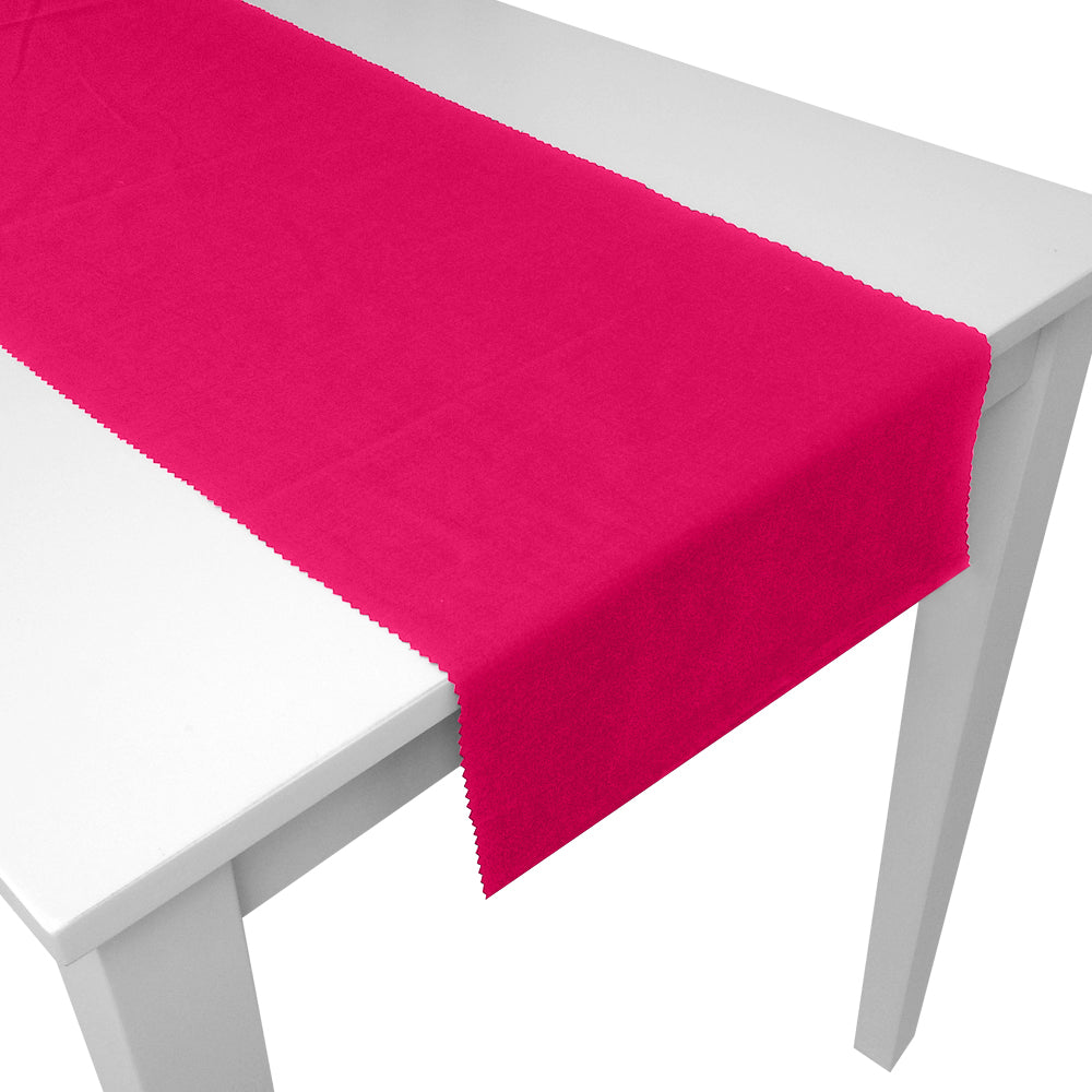 Hot Pink Fabric Table Runner - 1.5m