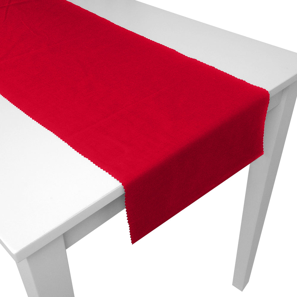 Red Fabric Table Runner - 1.5m