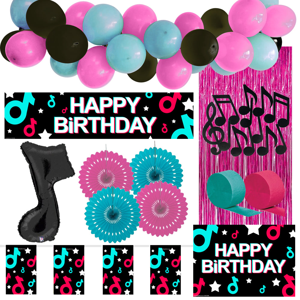 Tik Party Decoration Pack
