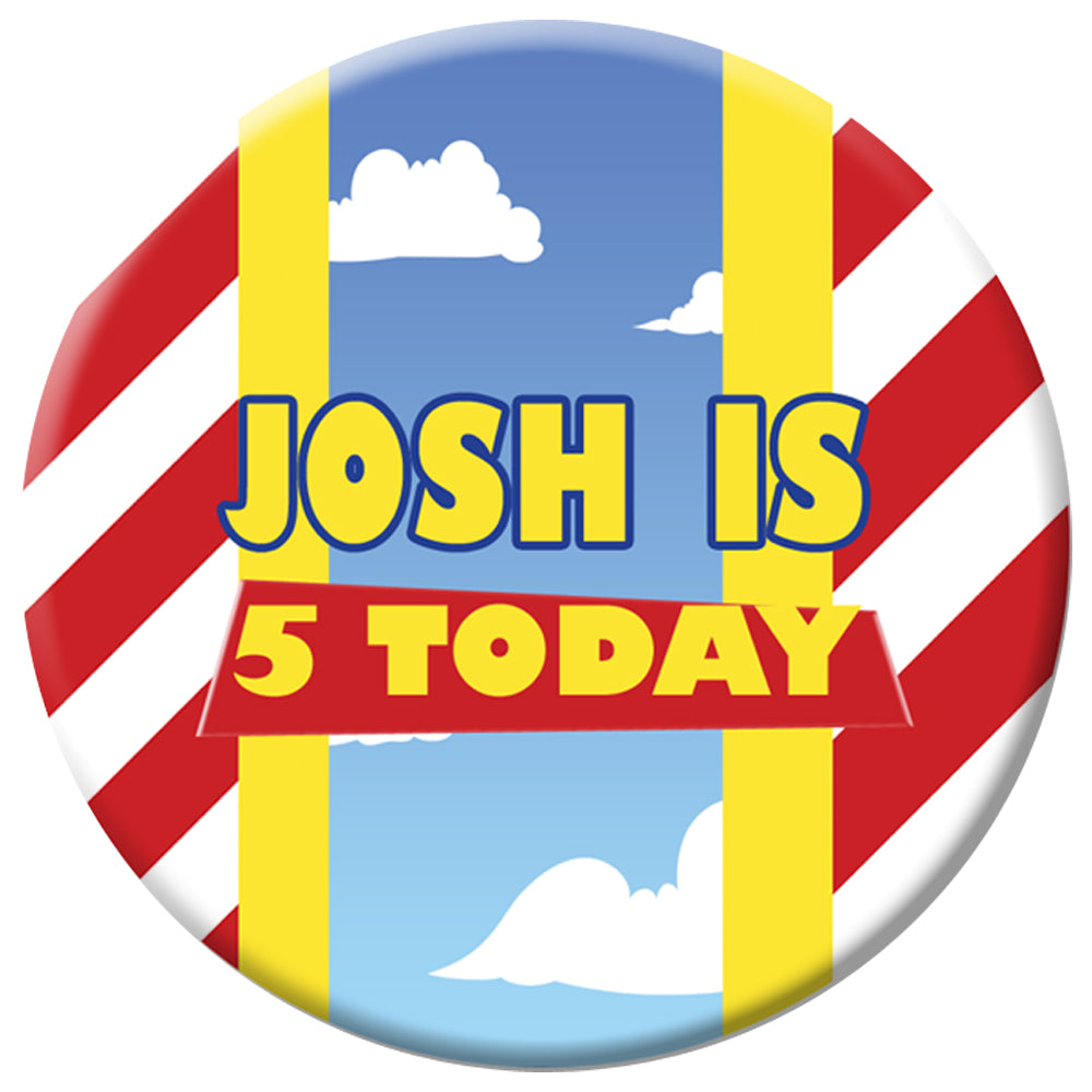 Personalised Toy Story Badge - 58mm