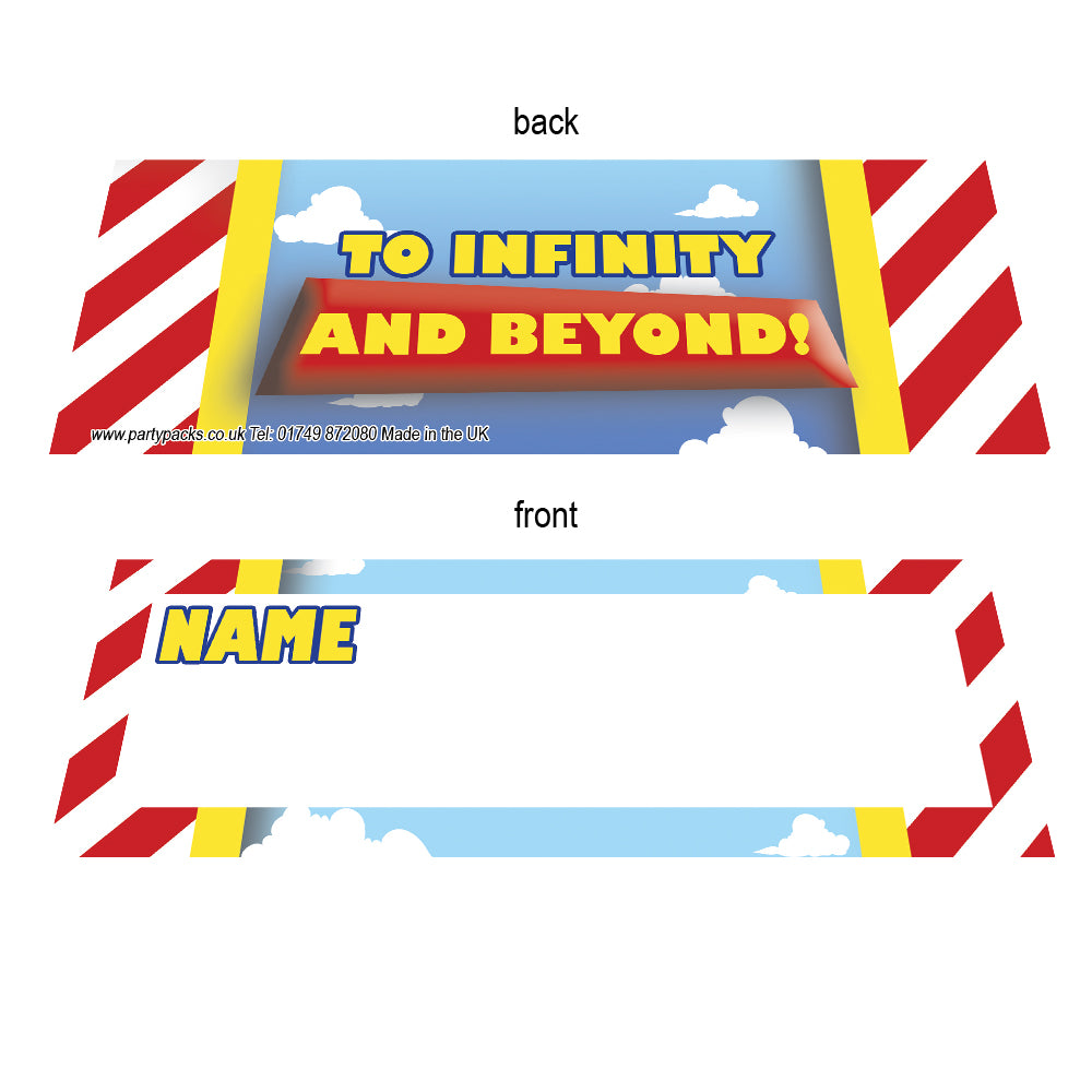 Toy Story Placecards - Pack of 8