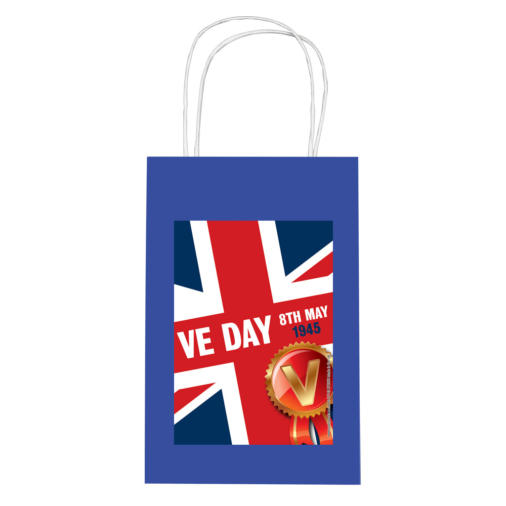 VE Day Paper Party Bags - Pack of 12