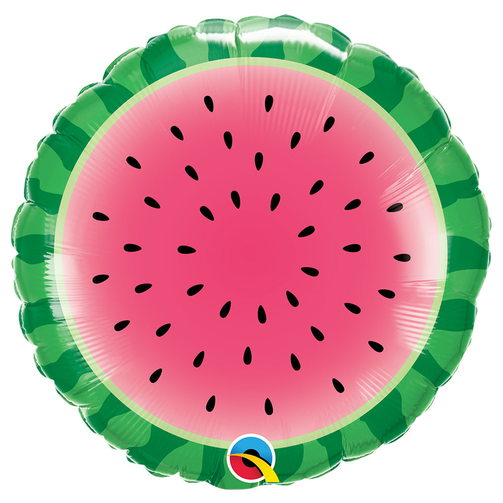 "Sliced Watermelon 18"" Foil Balloon"