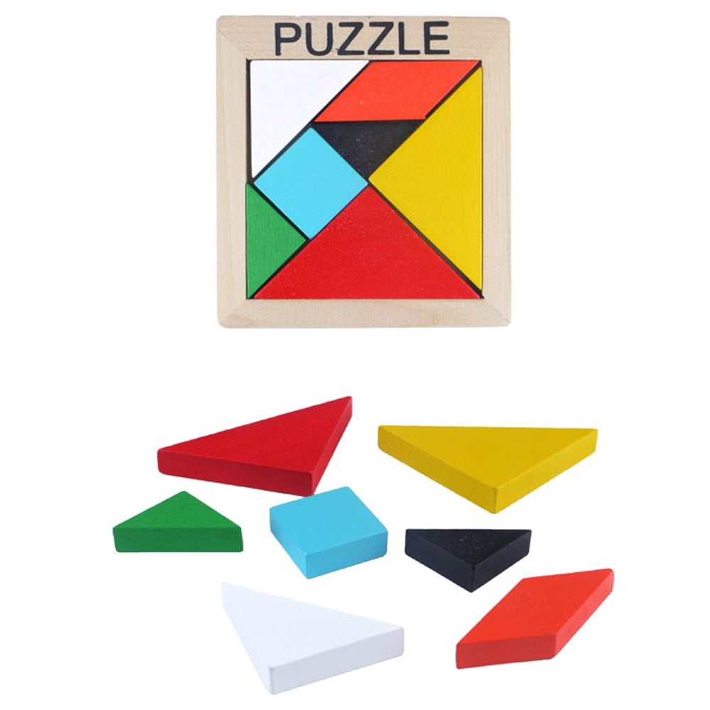 Wooden Puzzle Game - 10cm