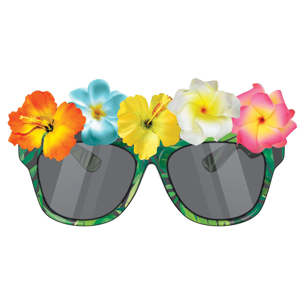 Tropical Flowers Sunglasses