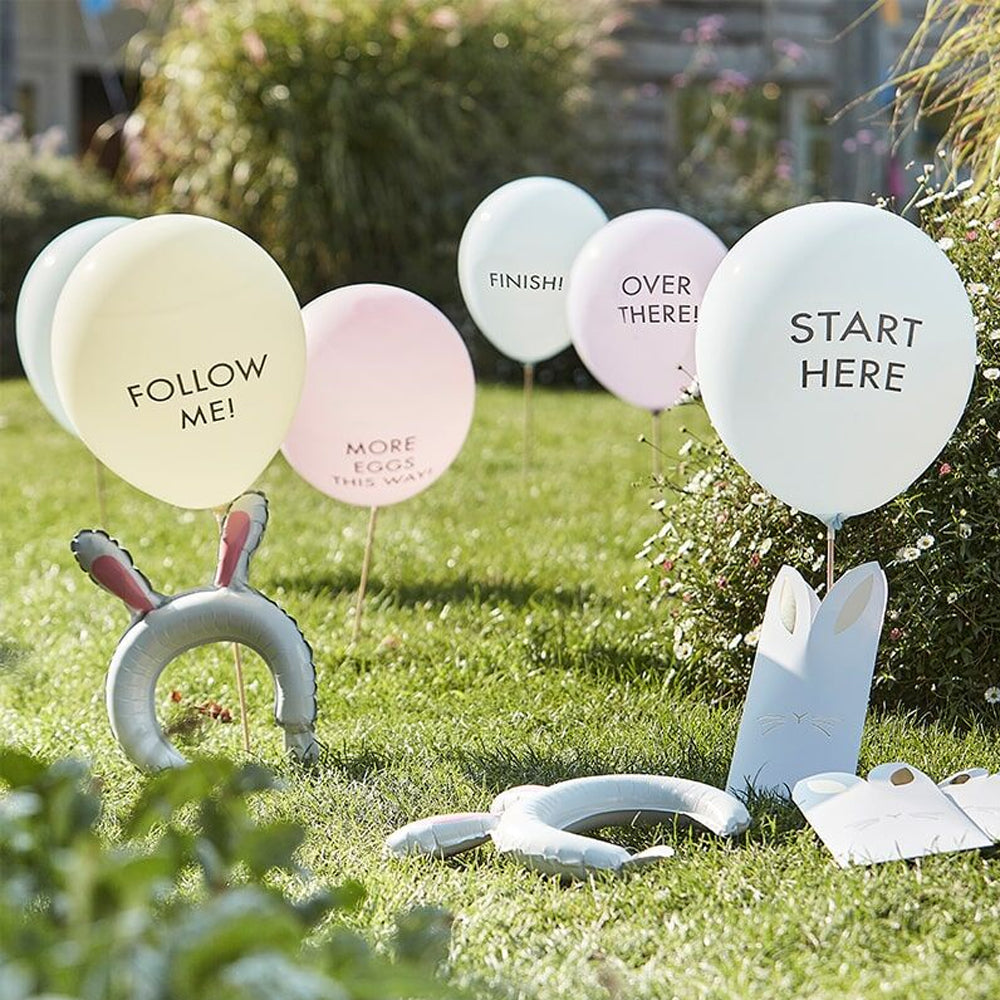 Easter Egg Hunt Kit With Balloon Markers