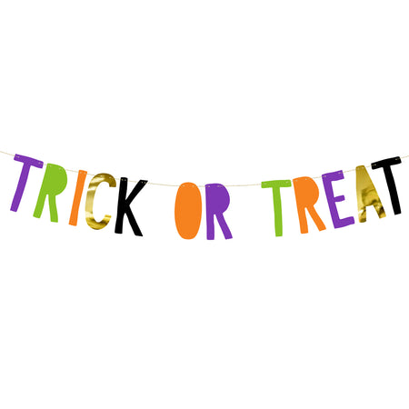 Trick or Treat Halloween Banner – 1m
