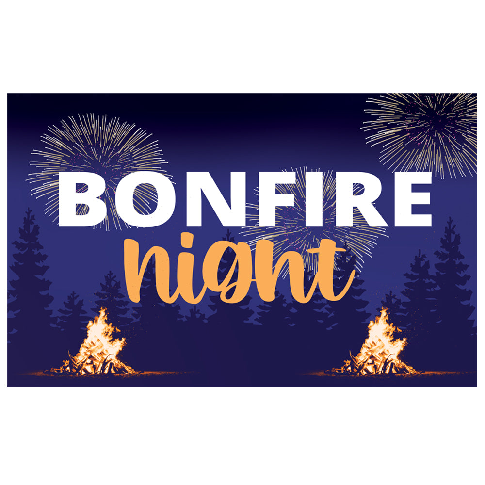 Bonfire Night Poster - A3