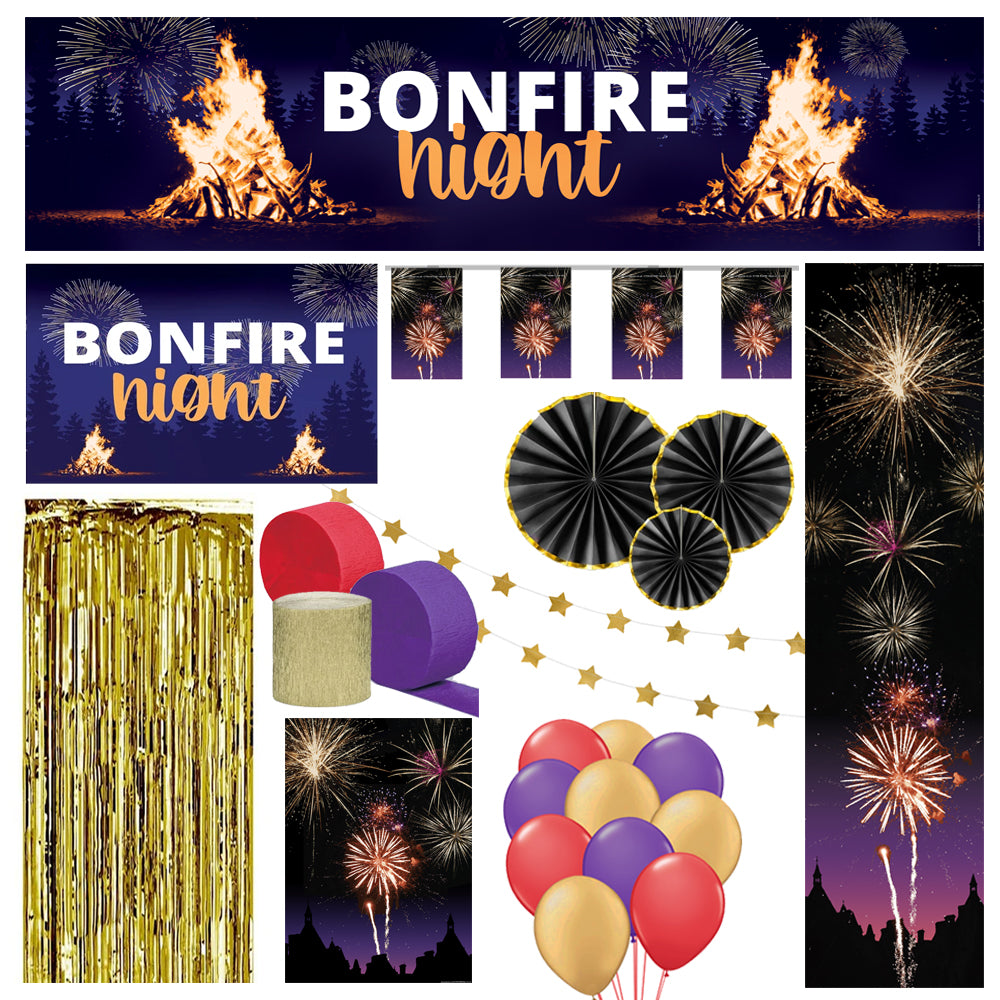 Bonfire Night Decoration Party Pack