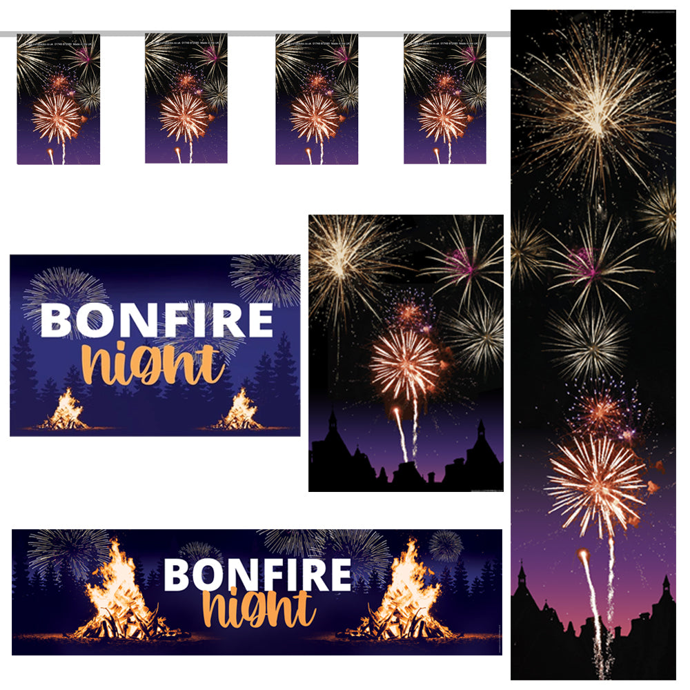 Bonfire Night Small Decoration Pack