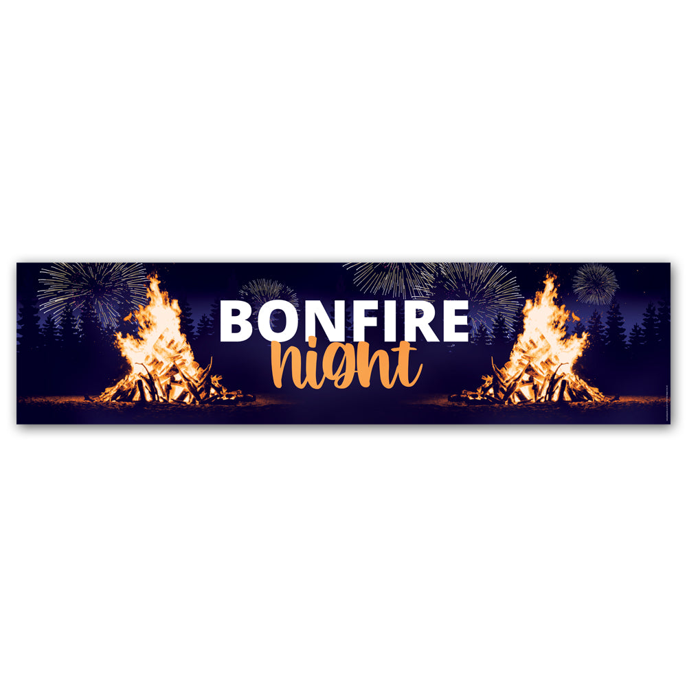 Bonfire Night Banner Decoration - 1.2m