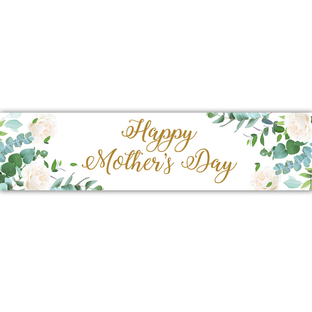 Botanical Foliage Mother's Day Banner- 1.2m